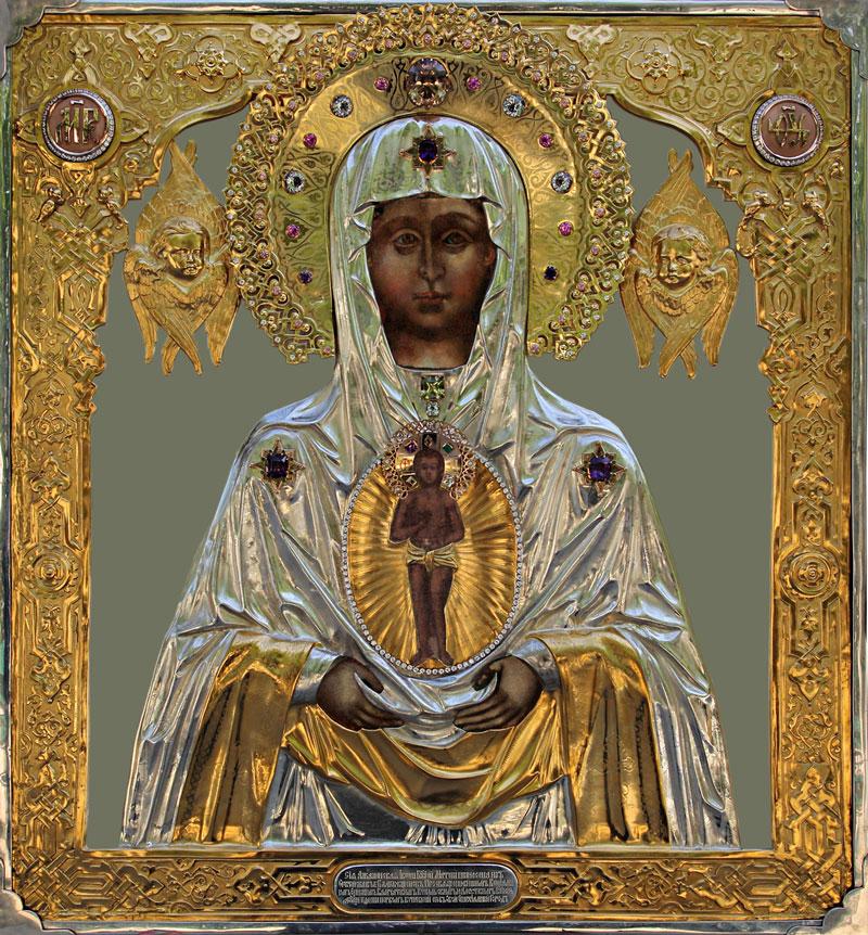 Албазинская икона Божией Матери в ризе