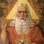 Икона Бога Саваофа