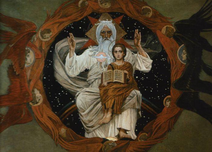 Икона Богоматерь Знамение