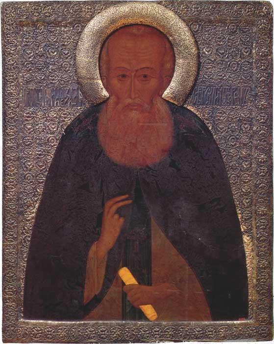 Оригинал иконы Александра Свирского