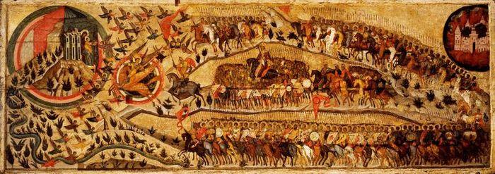 Благословенно воинство Небесного Царя. 1550-е гг.