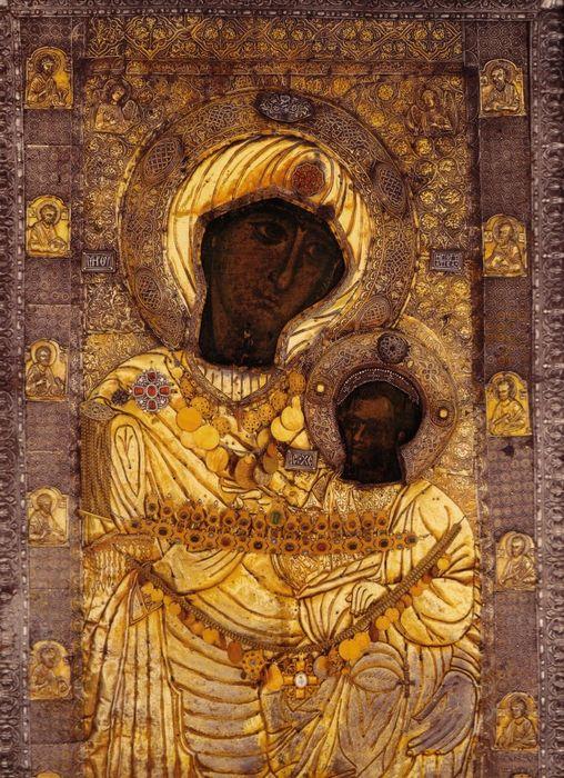 Икона Богоматери Иверская (Вратарница)