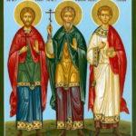 Икона «Гурий, Самон и Авив»