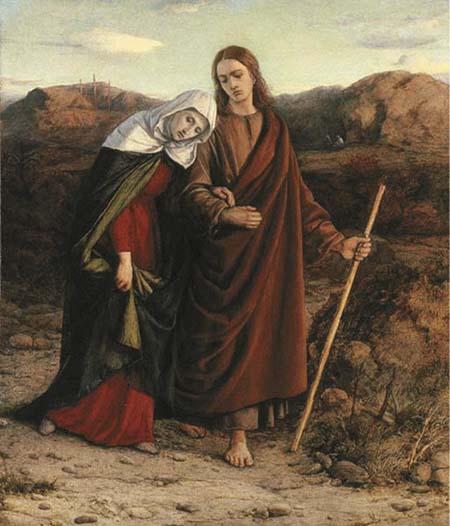 Иоанн Зеведеев и Божья Матерь