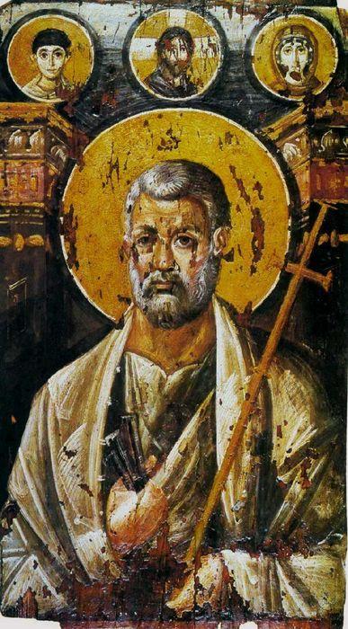 Синайская икона Апостол Петр