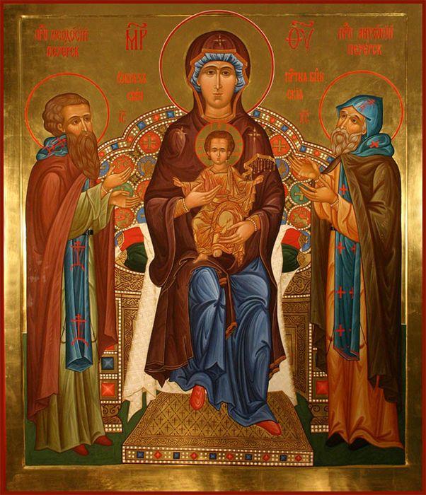 Икона Божией Матери Свенская (Печерская)