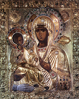 Икона Божией Матери «трихерусса» («Троеручица»)