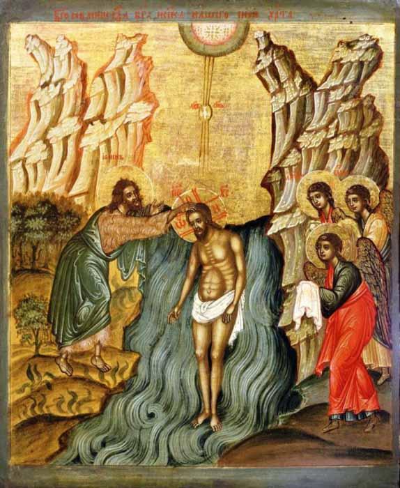 Крещение-Господне-икона