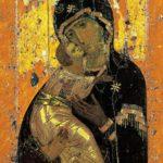 Владимирская икона Божией Матери (12 век)