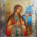 Ахтырская икона молодой Божьей Матери