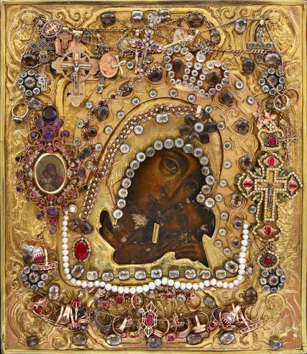 Чудотворная Касперовская икона Божией Матери