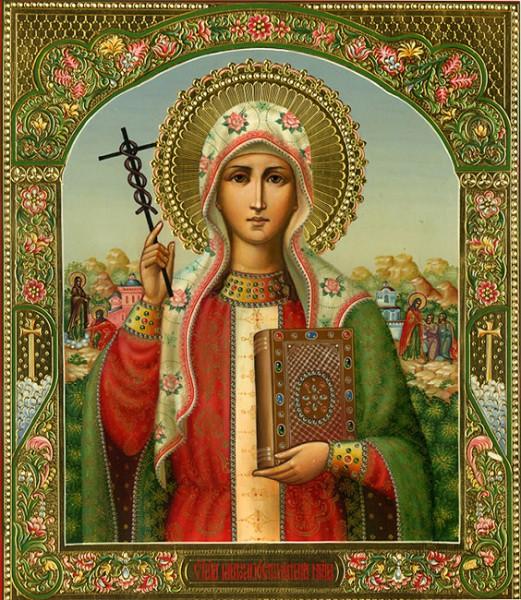 Икона святой Тамары
