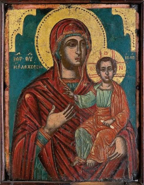Икона «Влахернская Божья Матерь (Одигитрия)»