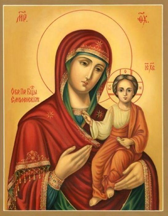 Смоленская икона Божьей Матери
