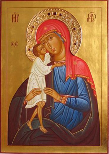 Икона Божьей Матери «Взыскание погибших»
