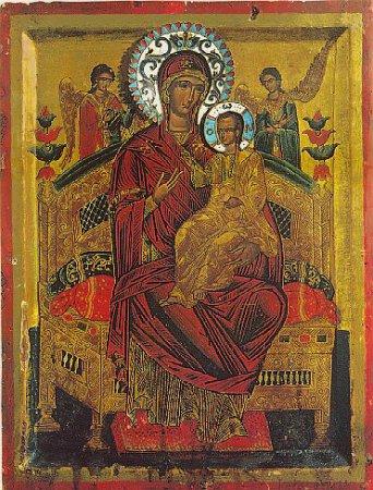 Икона Богородицы «Всецарица» («Пантанасса»)