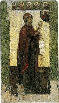 Боголюбская икона Божией Матери. Первообраз иконы
