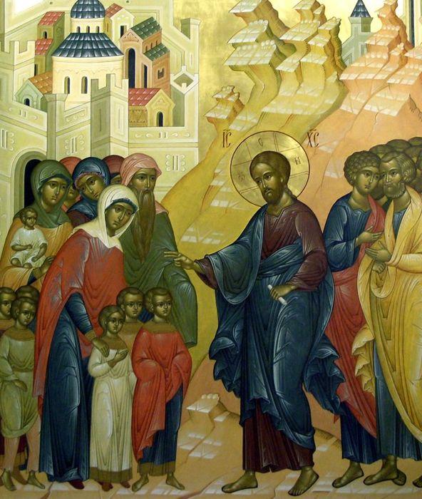 Христос, благословляющий детей