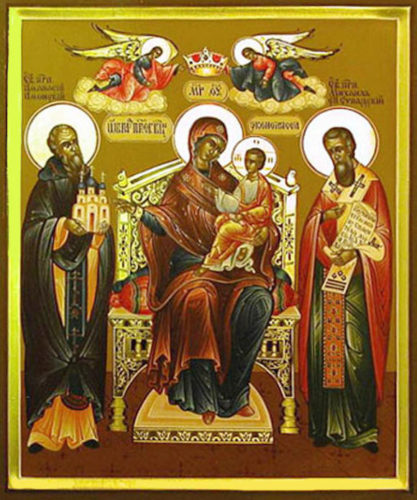 Икона Божией Матери «Экономисса»