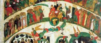 Икона Страшный суд Божий