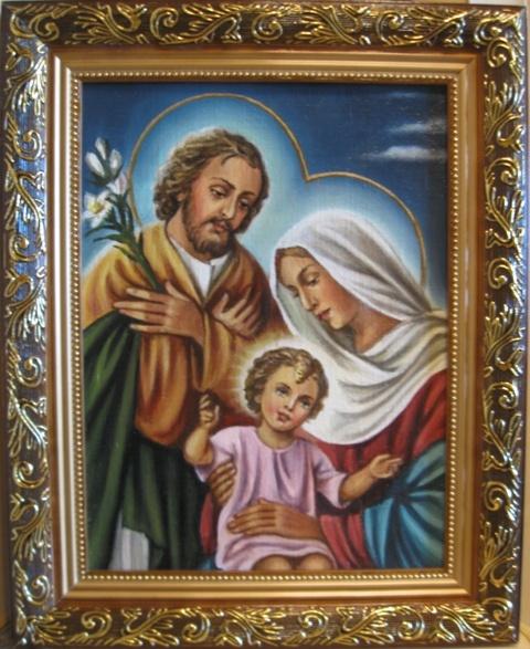 Икона Святое семейство католическая