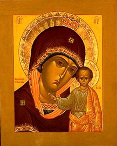 Икона Табынской Божией матери