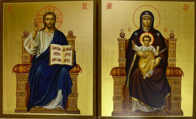 Иконы Иисуса Христа и Матери Божией – основа домашнего иконостаса
