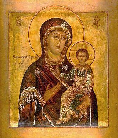 Смоленская икона Божией Матери «Од