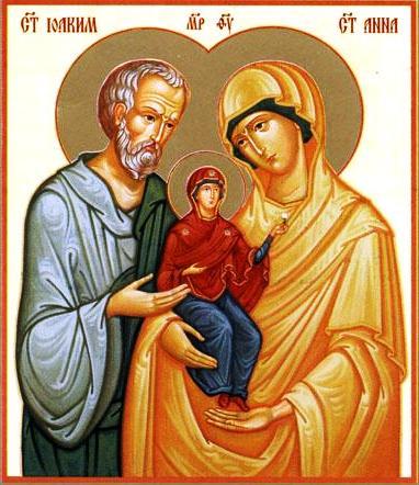 Святые Иоакимм и Анна