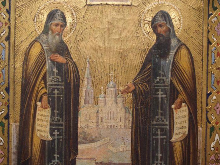 Святые Преподобные Сергий и Герман, Валаамские чудотворцы