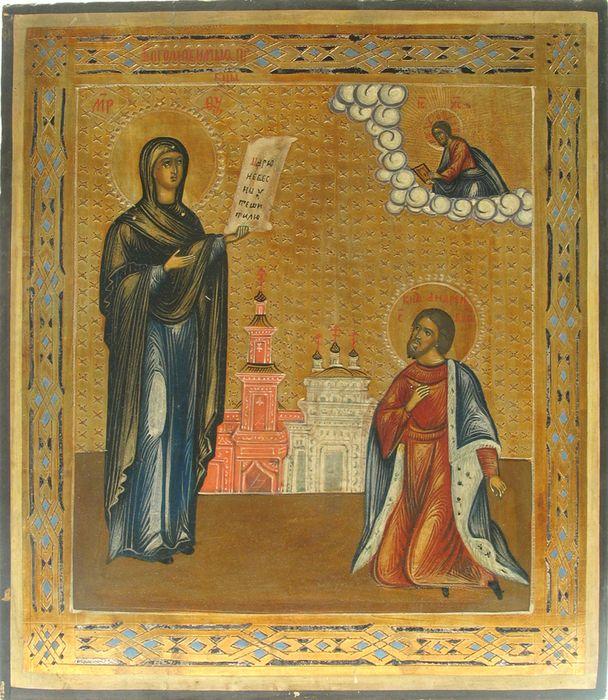 Икона Богородицы Боголюбская