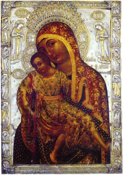 Икона Божией Матери Киккская «Милостивая»