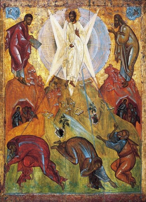 """Преображение Господне"" Феофана Грека (15 век)"