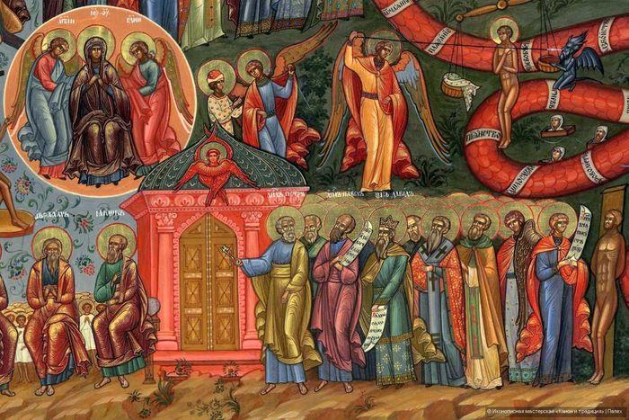 «Светлые» сюжеты иконы Суд Божий