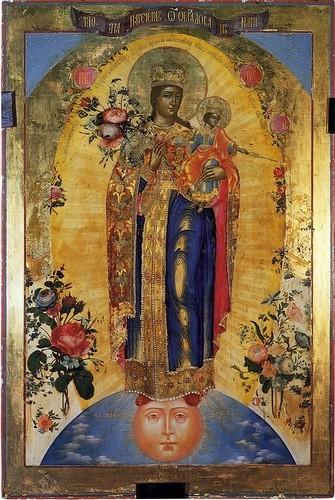 Икона Богородицы Благодатное Небо