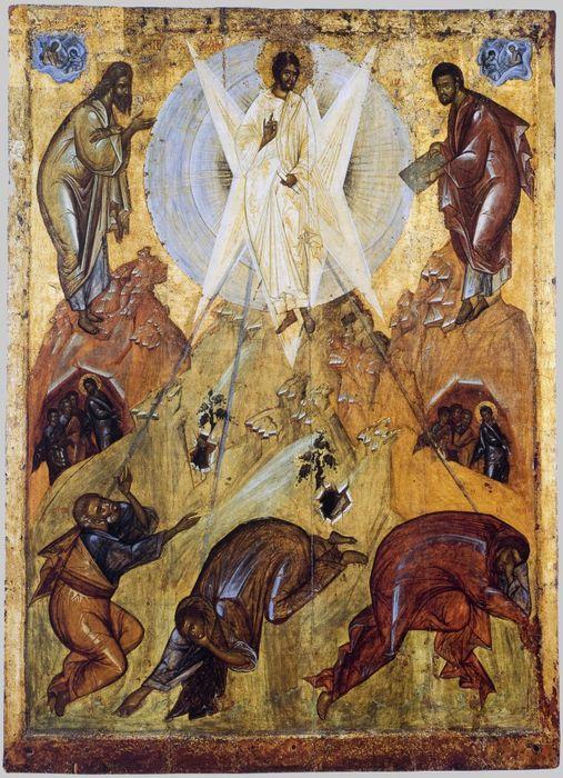 Икона Преображения Иисуса Христа на горе Фавор