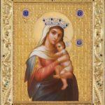 Икона с рамкой Богородица Отчаянных Единая Надежда