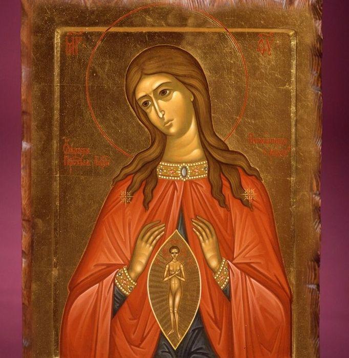 Икона «В родах Помощница»