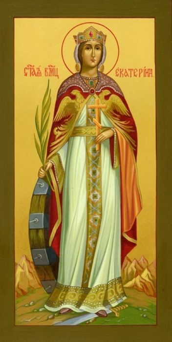 Икона великомученицы Екатерины