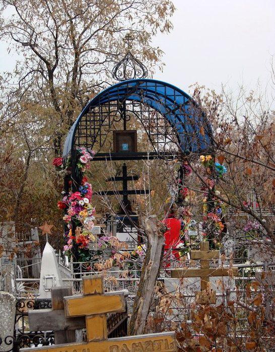 Марфа Царицынская нынешняя могилка