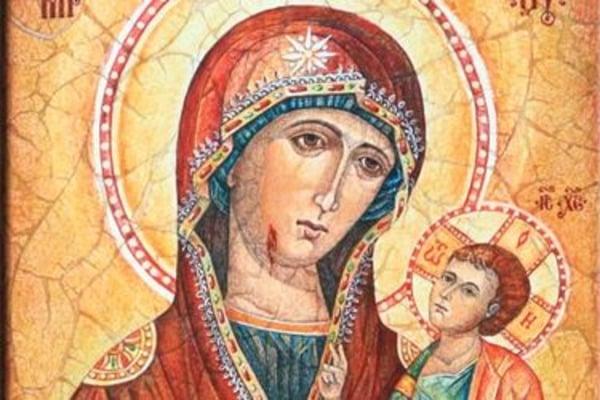 Мироточивая икона Божьей Матери Иверской