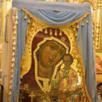 Современная икона Табынской Божией матери