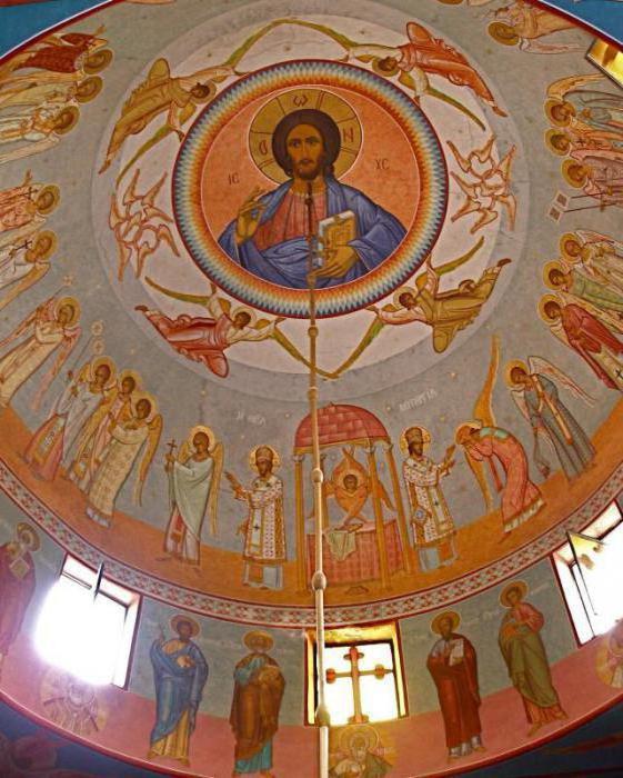 Икона Господь Вседержитель в храме