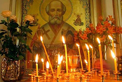 Николай Угодник икона в храме