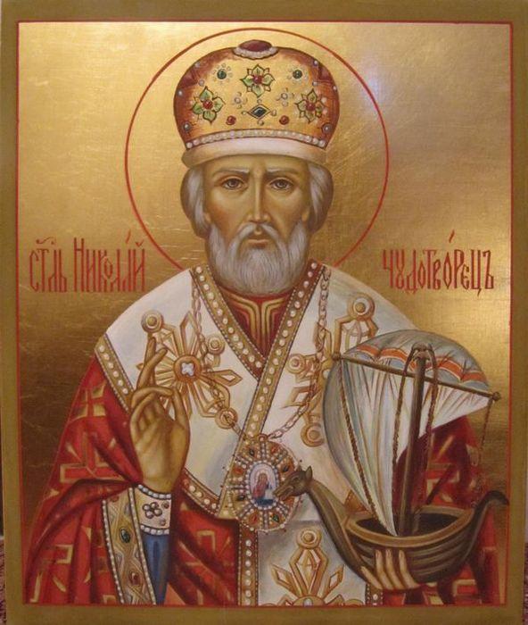 Святой Николая Чудотворец