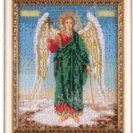 Вышитая икона Ангела хранителя