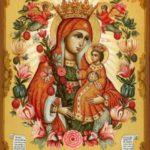 Икона Неувядаемый цвет с розами