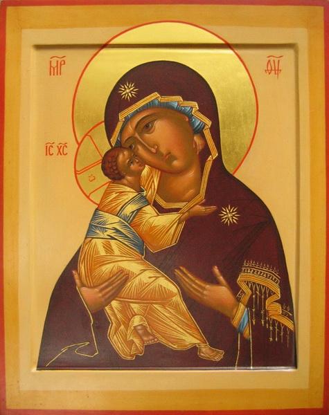 Икона святой Матери Божьей