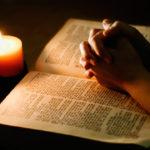 Молитва перед Библией