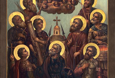 Икона 9 Кизических мучеников
